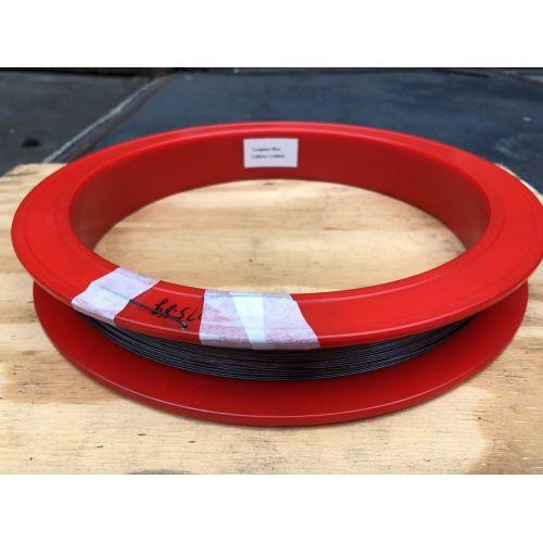 Fil de tungstène Ø0.1-1.5mm 99.95% pur métal coupe pouce ampoule 1-50 mètres, métaux rares