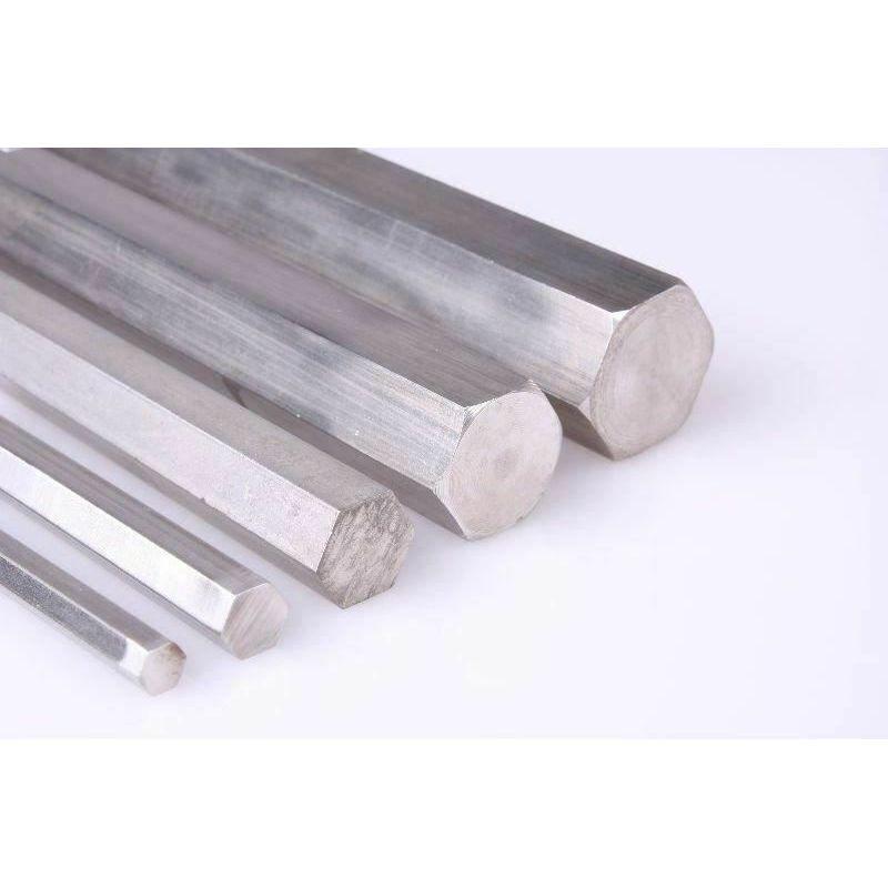 Tige hexagonale en acier inoxydable SW 18mm-60mm 1.4305 tige hexagonale VA V2A 303 tige hexagonale, acier inoxydable