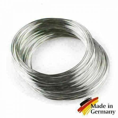 Fil d'acier à ressort 0.1-10mm fil à ressort 1.4310 acier inoxydable 301 antirouille 1-200 mètres, acier inoxydable