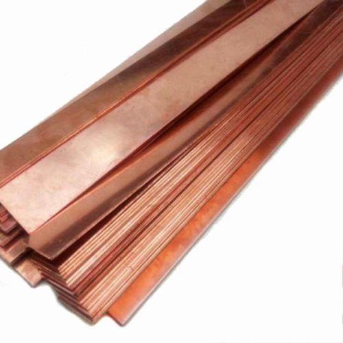Plaque de tôle d'anode pure en cuivre à 99,9% 10x200x50-10x200x1000mm électrode de galvanoplastie brute, cuivre