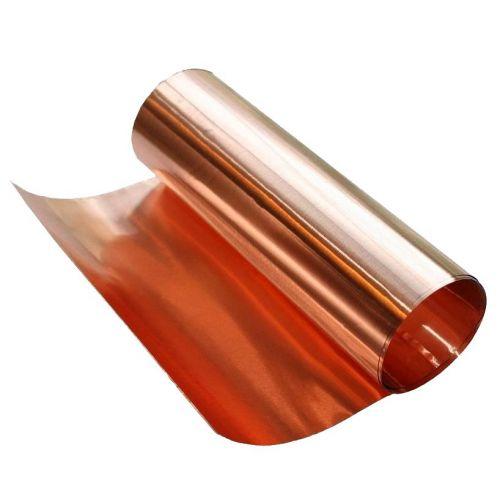 Ruban cuivre 0.1x600mm Ruban adhésif cuivre 0,1 mètre à 100 mètres, cuivre