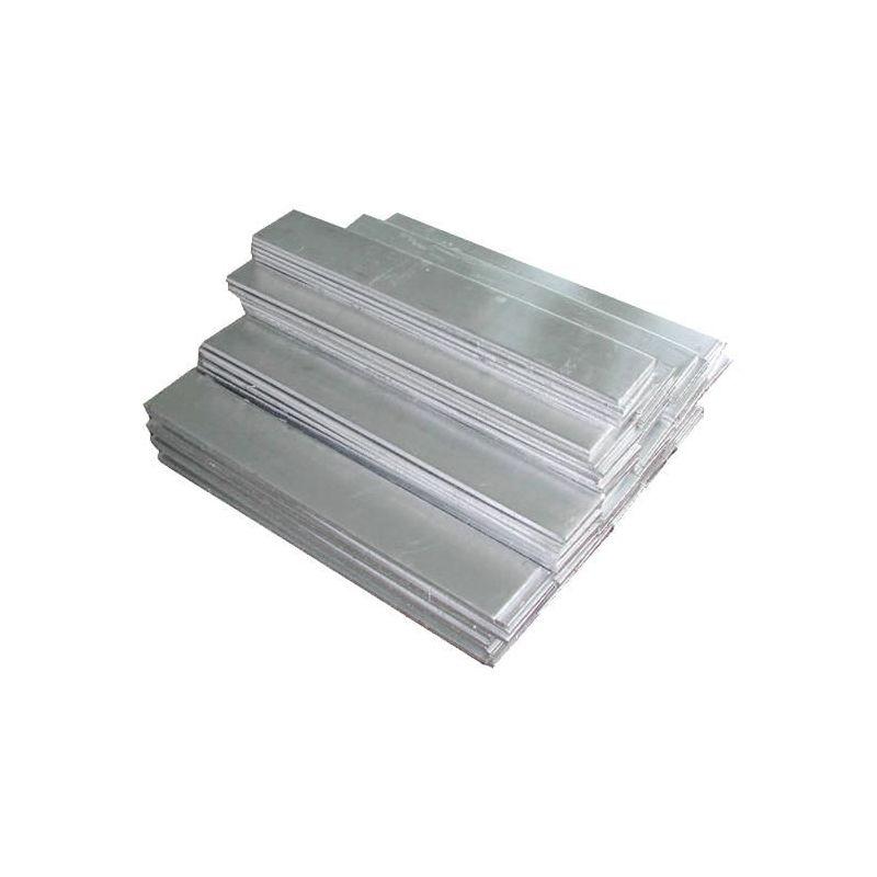 Nickel 99% plaque de tôle d'anode pure 8x200x50-8x200x1000mm électrolyse de galvanoplastie brute, alliage de nickel