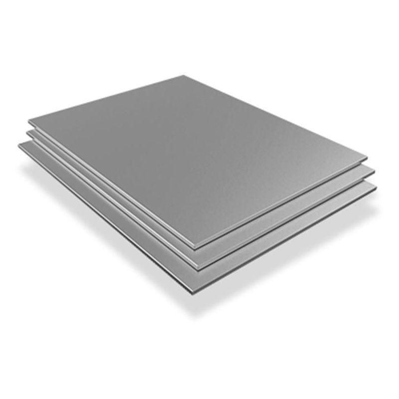 Tôle d'acier inoxydable 0.5mm-1mm V2A 1.4301 plaques plaques coupées à la taille 100 mm à 1000 mm, acier inoxydable
