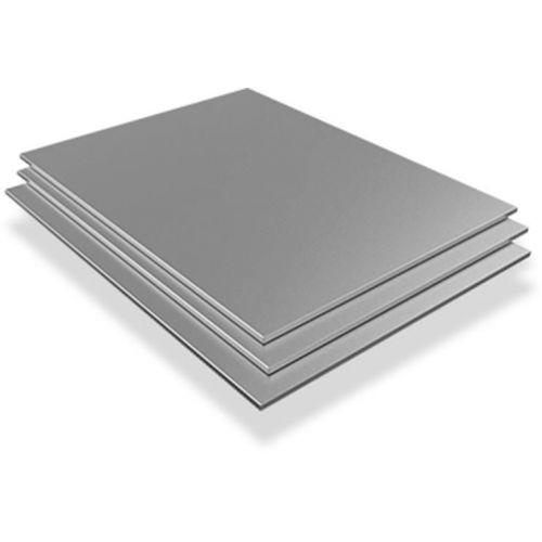 Tôle d'acier inoxydable 1.2mm-2mm Plaques V2A 1.4301 Plaques coupées de 100 mm à 1000 mm, acier inoxydable