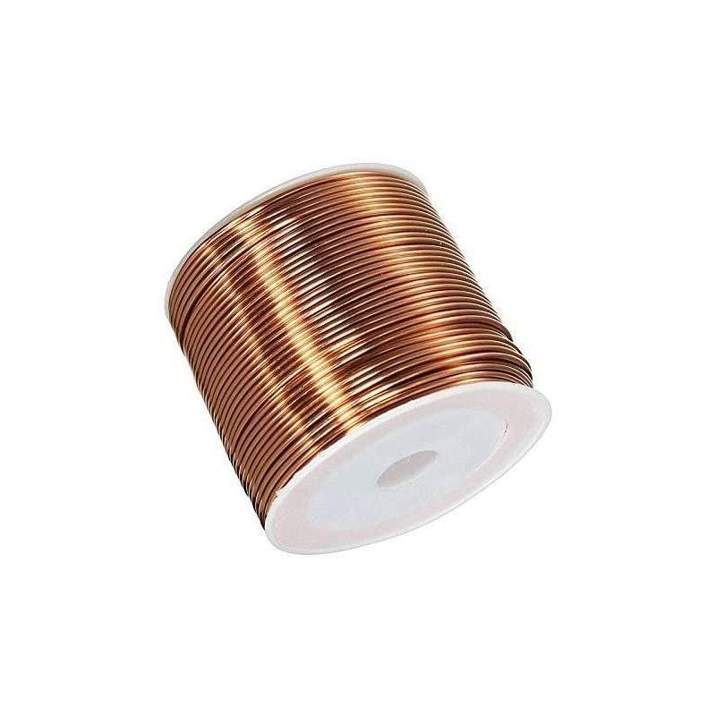 Fil de cuivre Ø0.05-2.8mm fil émaillé Cu 99,9 wnr 2.0090 fil artisanal 2-750 mètres, cuivre