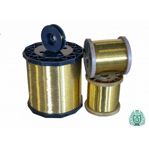 2-500 mètres de fil laiton Ø 0,1-0,6 mm 2.0401 fil artisanal Ms58 non revêtu, laiton