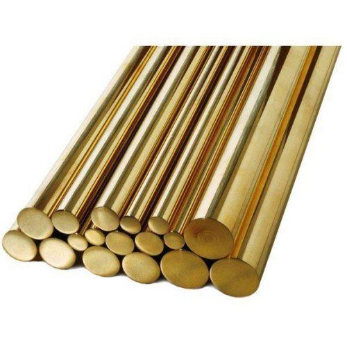 Tige Ø1.5-60mm laiton 2.0401 tige ronde Ms58 tige ronde matière, laiton