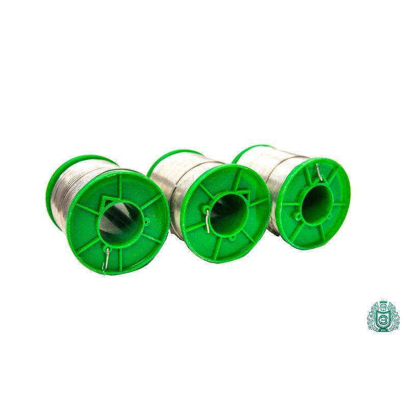 Étain à souder Sn99Cu1 dia 1.5mm avec liquide 2.5% sans plomb 25gr-1kg, soudage et brasage