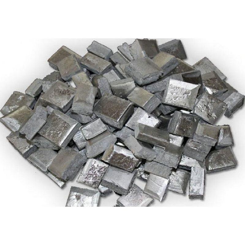 Barres à pépites Scandium Aluminium AlSc Aluminium 98% Scandium 2% 5-10kg