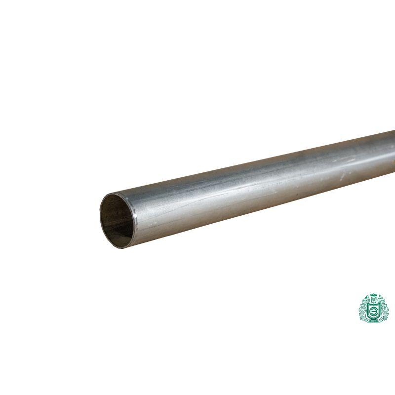 Tuyau en acier galvanisé construction tuyau garde-corps filetage métal rond Ø 50x1.4mm