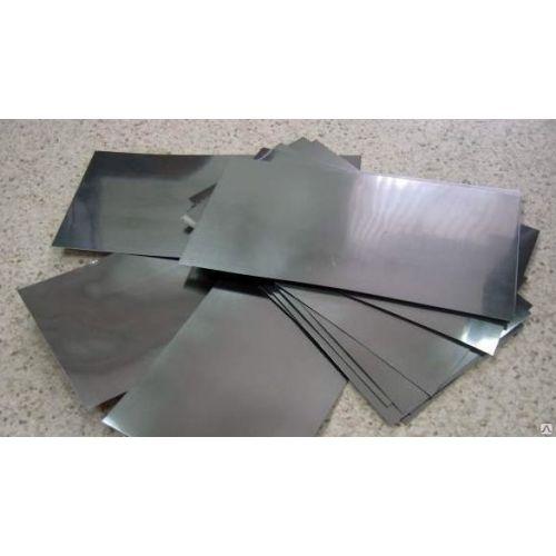 Plaque de tôle d'anode pure à 99,9% de cadmium 6x300x50-8x300x500mm électrolyse de galvanoplastie
