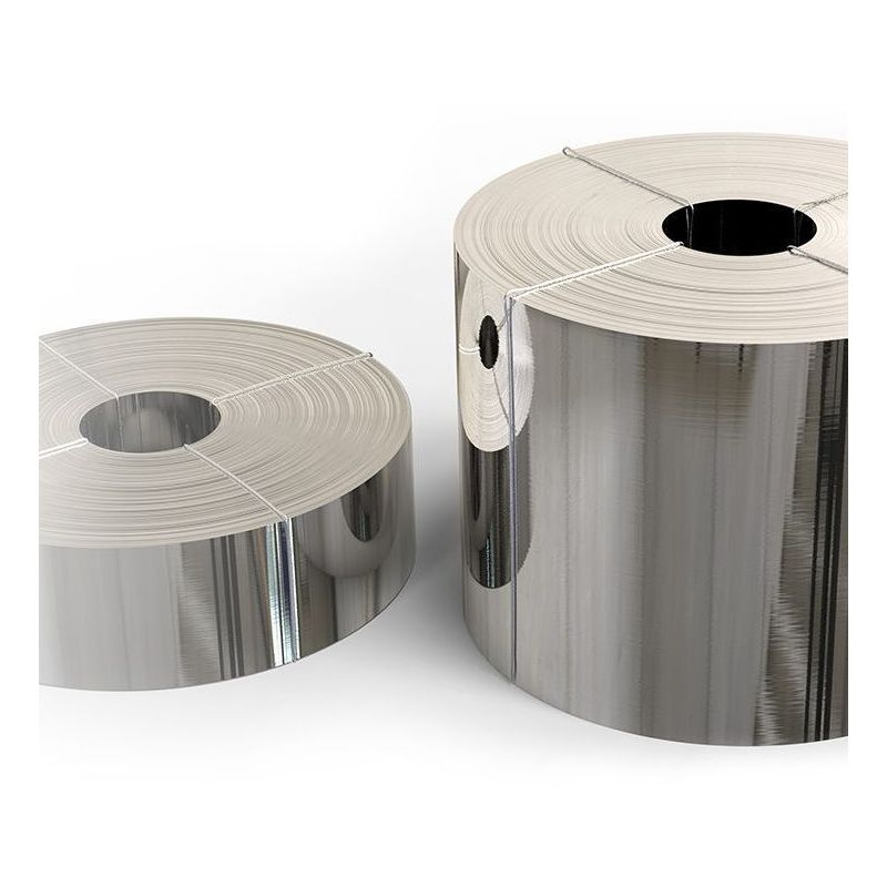 Ruban en acier inoxydable 1.4301 feuille 0.05x20mm à 0.4x200mm V2A 304 bande de tôle