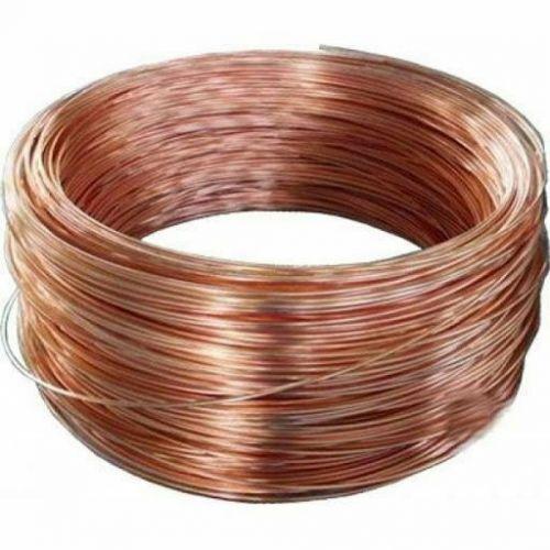 Fil de cuivre brut Ø0.1-5mm sans vernis sans revêtement Cu 99 craft wire 2-750 mètres