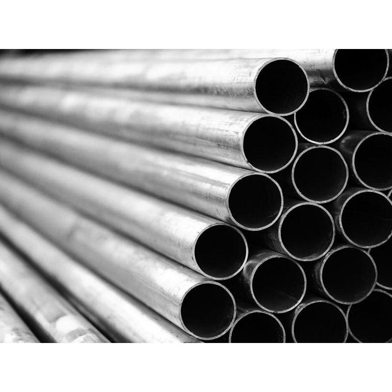 Tube rond, tube en acier, tube fileté, tube de garde-corps dia 7x1.2 à 80x2mm