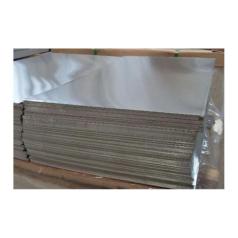 Feuille d'aluminium de 1 mm de plaques Al feuille mince sélectionnable de 100 mm à 2000 mm