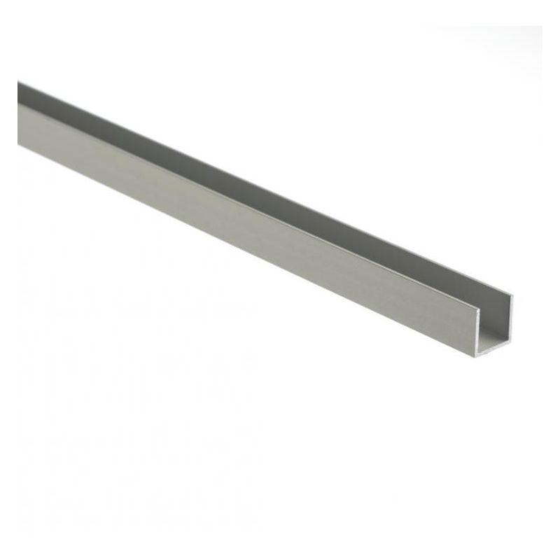 Profilé en U en aluminium isocèle 30x20x2mm-80x20x2mm angle en aluminium