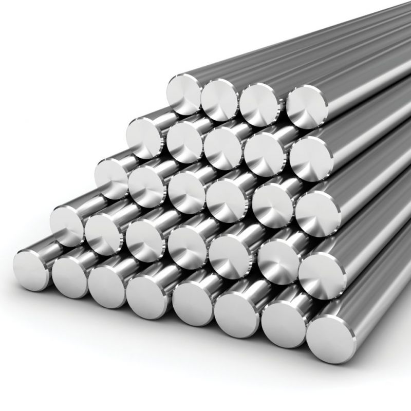 Tige en acier inoxydable 2-120mm Gost 08x18h10t profil de tige ronde tige en acier ronde 0,5-2 mètres