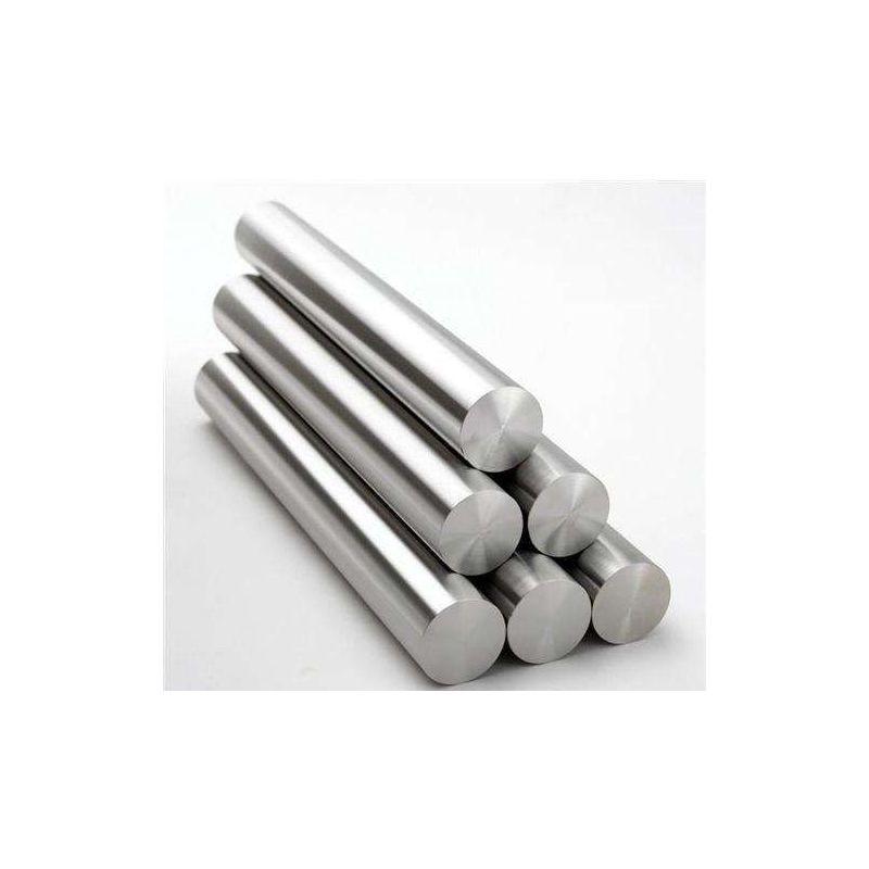 Gost 12h18n10t barre 2-120mm barre ronde profil 12x18h10t barre en acier ronde 0,5-2 mètres