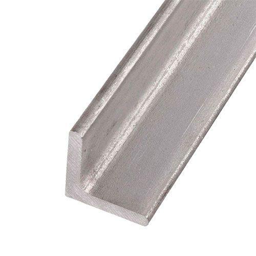 Angle de profil en L en acier inoxydable isocèle 40x40x4mm 0,25-2 Met