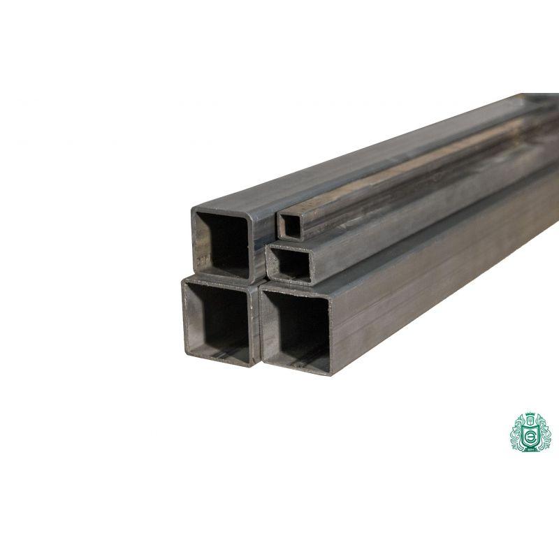 Tube carré tube en acier profilé creux tube carré en acier diamètre 12x12x1,5 à 100x100x3 0,2-2 mètres