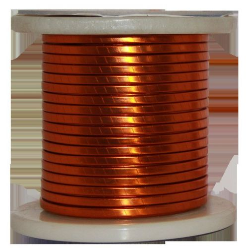 Fil plat émaillé Ø 5-18mm fil de cuivre W200 barre plate Cu 99,9% fil émaillé fil artisanal