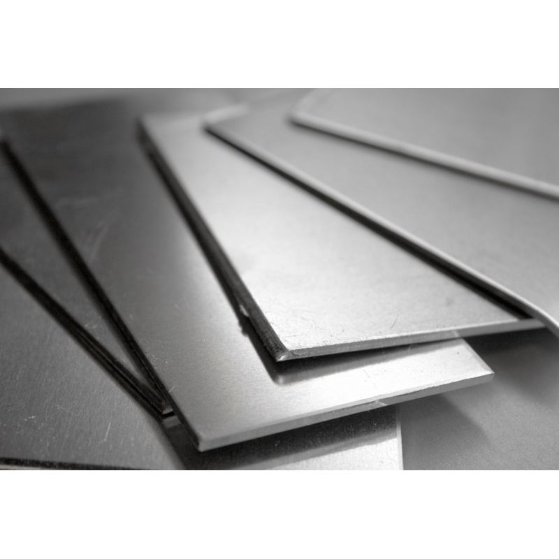 Nickel 200 feuille 1.5-3mm feuilles coupées 2.4060 Alliage 200 Ni 99.9% 100-1000mm
