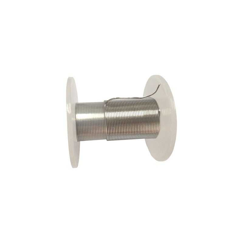 Fil d'indium 99,9% de Ø 0,5 mm à Ø 5 mm élément en métal pur 49 Fil