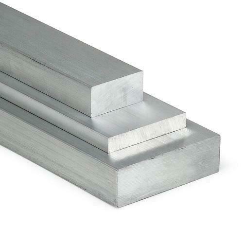Barre plate en aluminium 30x2mm-60x8mm AlMgSi0.5 matériau plat profil en aluminium oeuf plat