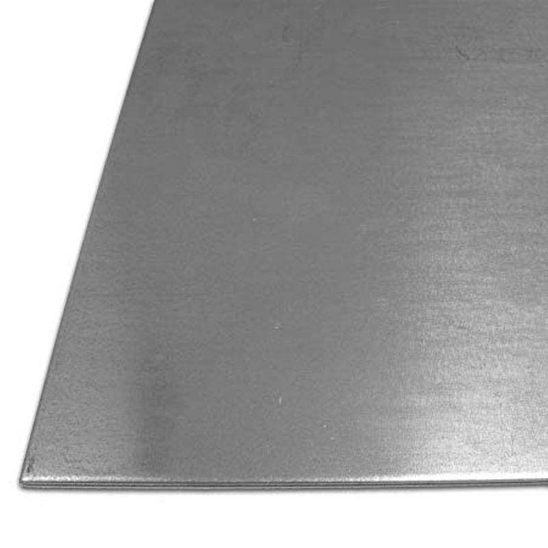 Tôle d'acier Plaques S235 galvanisées de 1 à 4 mm Feuilles Plaque d'acier de 100 mm à 1000 mm