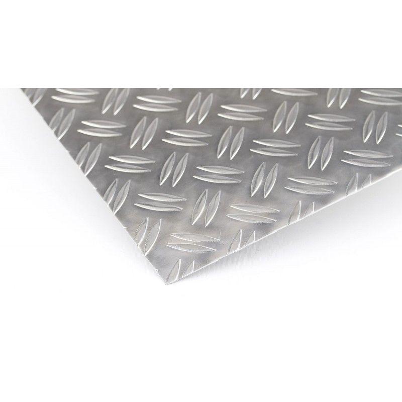 Plaque de contrôle en aluminium 1.5 / 2mm - 5 / 6.5mm Duett plaques Al feuilles Plaque mince en aluminium