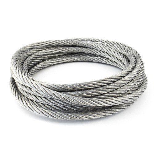 Câble en acier inoxydable dia 1-8mm 1.4406 V4A 5-250 mètres Câble en acier 7x7 et 7x19