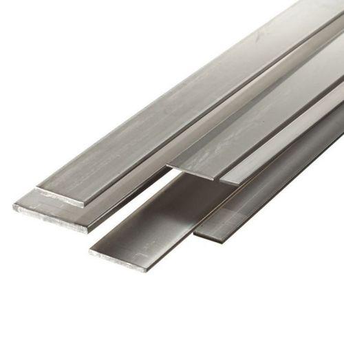 Barres plates en acier 30x2mm-90x12mm de tôle coupées à 0,5 mètre