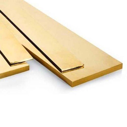 Barre plate en laiton 30x2mm-90x10mm bandes de tôle coupées à 0,5 à 2 mètres