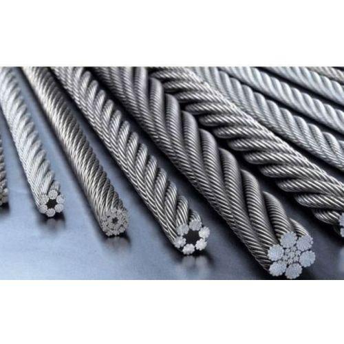 Câble en acier inoxydable 1-8mm V4A 1.4401 Câble en acier 316 7x7 et 7x19 5-250 mètres