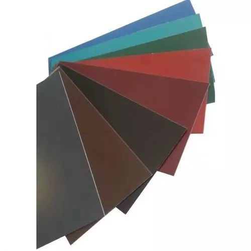 La tôle plate en acier de bande de couleur de la barre plate de 0,5 mm est coupée à la taille de 0,5 à 1 mètre