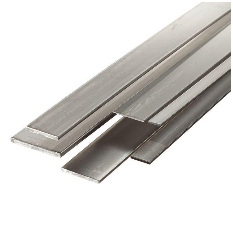 Barre plate en acier 30x2mm-90x5mm bandes de tôle coupées à 0,5 à 2 mètres