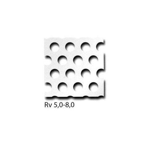 Les panneaux perforés en tôle d'aluminium RV3-5 + RV5-8 + RV10-15 peuvent être découpés à la taille souhaitée, taille souhaitée