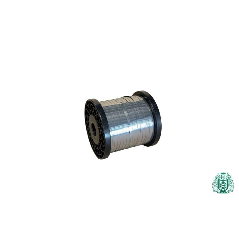 Fil plat de bande de tôle d'acier inoxydable 0.3x0.6mm V2A 1.4301 304 fil chauffant de ruban, acier inoxydable