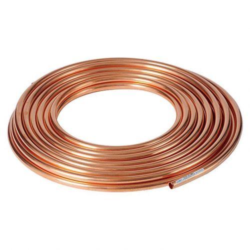 Tuyau en cuivre 3x0.5mm-4x1mm recuit doux dans l'anneau eau huile gaz chauffage 1-50 mètres,  cuivre