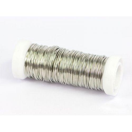 2-100 mètres de fil de cuivre, fil d'argent, fil artisanal, bijoux, argenté Ø0.5-1.2mm, cuivre