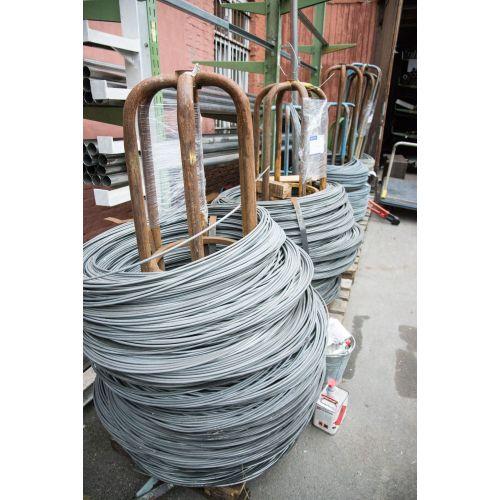 Fil de tension 0.6-8mm fil de liaison fer galvanisé fleurs bricolage maille 10-500 mètres, acier