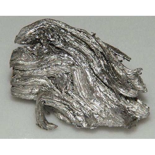 Erbium métal élément métallique pur à 99,9% métal Er élément 68, métaux rares