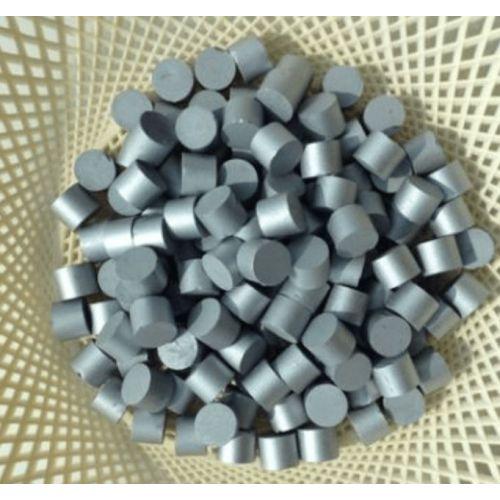 Élément métallique en métal pur à 99,98% de rhénium métallique Renium Re Element 75,  Métaux rares