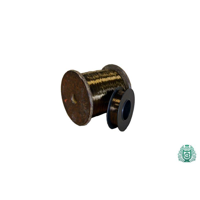 Fil Constantan Ø0.04-0.45mm Fil de résistance 2.0842 Fil chauffant CuNi44 2.5-100 mètres, alliage de nickel
