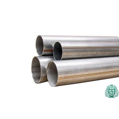 Tuyau rond 1.4301 Aisi 304 Ø15x2.5-101.6x2mm Tuyau en acier inoxydable V2A rampe d'échappement 0,25-2 mètres, acier inoxydable